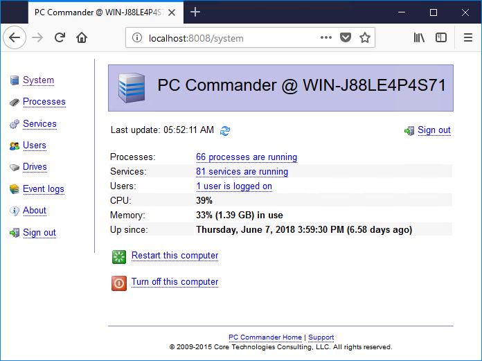 PC Commander
